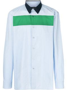 рубашка с контрастной полосой Raf Simons