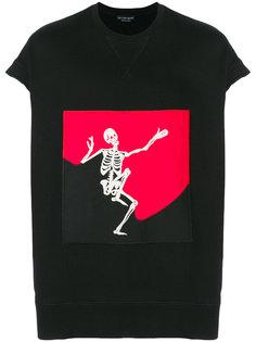 Dancing Skeleton sweatshirt Alexander McQueen