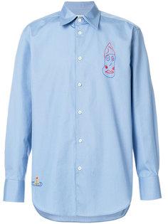 рубашка с вышивкой Vivienne Westwood
