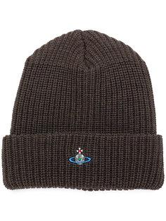 шапка с вышитым логотипом  Vivienne Westwood
