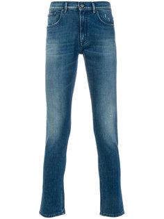 эластичные облегающие джинсы Dondup