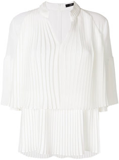 pleated shift blouse Steffen Schraut