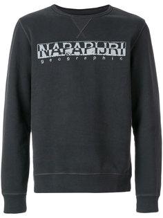logo print sweatshirt  Napapijri