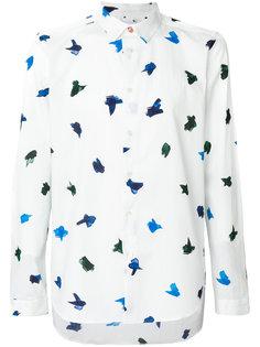 рубашка с принтом птиц Ps By Paul Smith