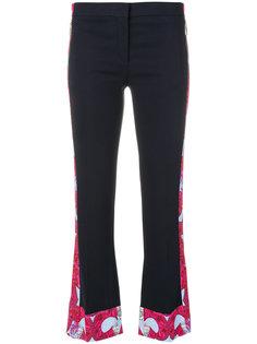 брюки с отделкой Barocco Istante Versace