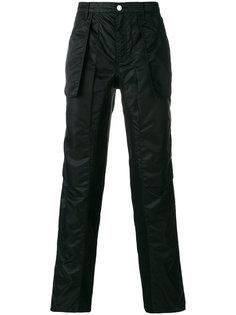 брюки с боковыми карманами Helmut Lang