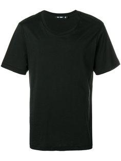 футболка с принтом логотипа сзади Blk Dnm