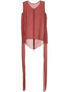 tie detail blouse Maticevski