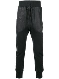 спортивные брюки с контрастными панелями Alexandre Plokhov