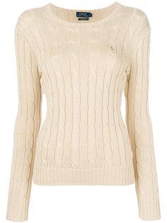 свитер вязки с косичками Polo Ralph Lauren