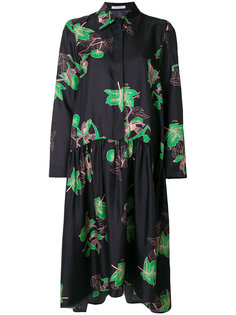 платье-рубашка с цветочным принтом Vivetta