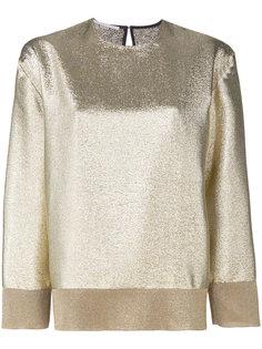 блузка с отделкой металлик Stella McCartney