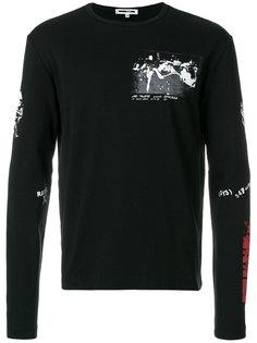 футболка с длинными рукавами McQ Alexander McQueen