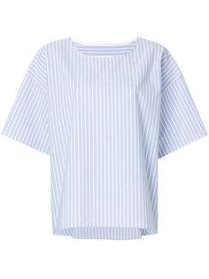 базовая полосатая рубашка Mm6 Maison Margiela