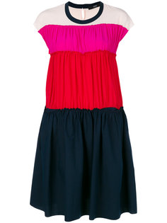 плиссированное платье дизайна колор-блок Steffen Schraut