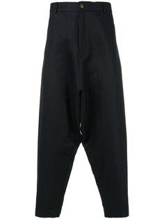 укороченные брюки с заниженной проймой Société Anonyme