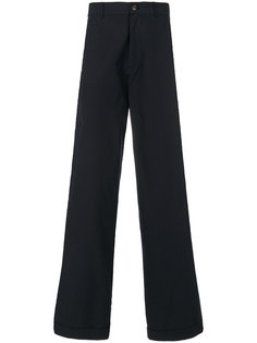 широкие брюки в полоску Société Anonyme