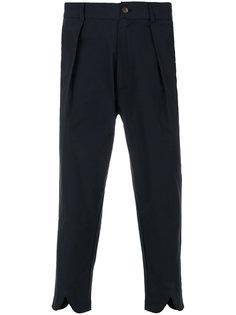 укороченные брюки в полоску  Société Anonyme