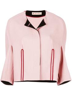 структурированный пиджак без воротника Marni