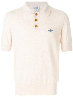рубашка-поло с вышитым логотипом Vivienne Westwood Man