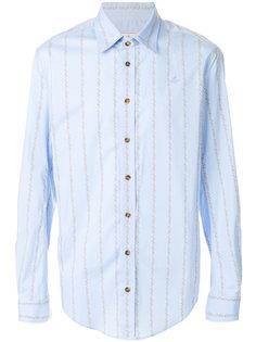 vertical stripe shirt Vivienne Westwood Man