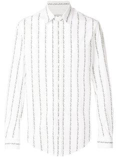 рубашка в вертикальную полоску Vivienne Westwood Man