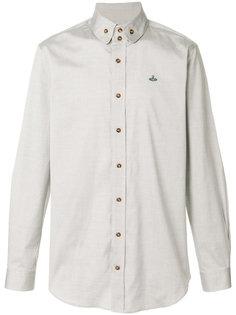 рубашка с вышитым логотипом Vivienne Westwood Anglomania