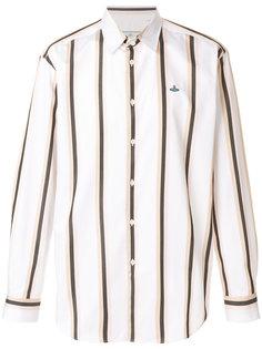 рубашка в вертикальную полоску Vivienne Westwood Anglomania