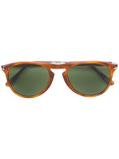 затемненные солнцезащитные очки в квадратной оправе Persol