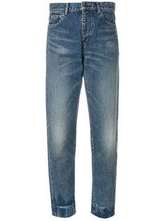 джинсы бойфренда с завышенной талией Saint Laurent