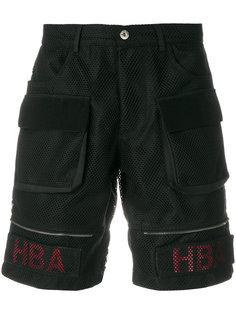 сетчатые шорты карго  Hood By Air