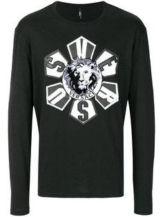 футболка с графическим принтом спереди Versus