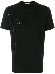 декорированная футболка Medusa head Versace Collection