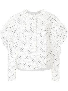 блузка с объемными рукавами  Georgia Alice
