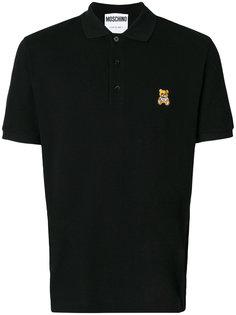 классическая футболка-поло Moschino