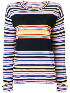 полосатый свитер плотной вязки Barrie