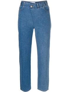укороченные джинсы Christian Wijnants