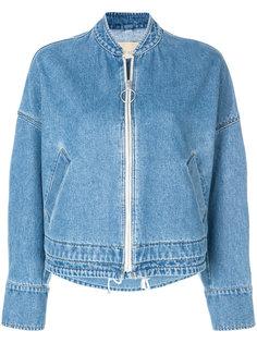 джинсовая куртка на молнии Christian Wijnants