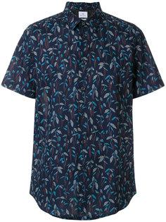 рубашка с лиственным принтом Ps By Paul Smith