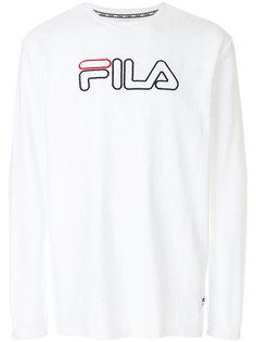 толстовка с вышитым логотипом Fila