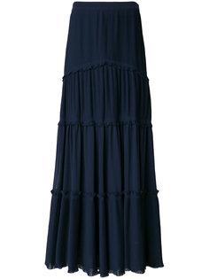 юбка с оборками  Tory Burch