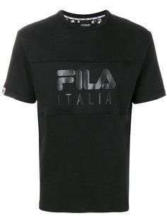 футболка с монохронным логотипом Fila