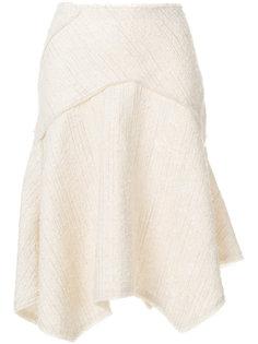 фактурная расклешенная юбка Proenza Schouler