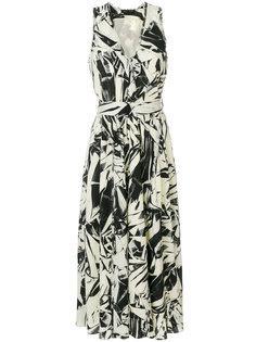 платье-миди с принтом Proenza Schouler