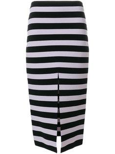полосатая юбка-карандаш Proenza Schouler