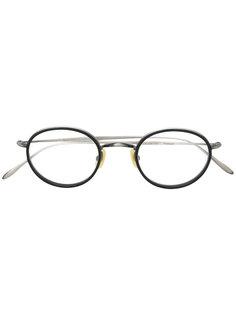 classic round glasses Lesca