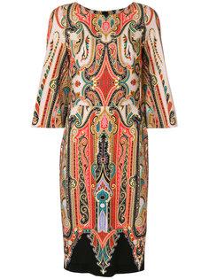 платье по фигуре с узором Etro