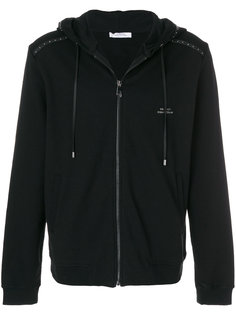 куртка на молнии с капюшоном Versace Collection