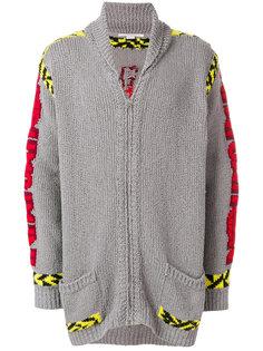 свитер с вышивкой на молнии Stella McCartney