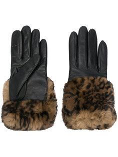 printed detail gloves Gala